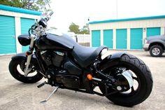 My friend's Suzuki 2007 M50 Boulevard bobber motorcycle  - Customization by FUKROC Designs
