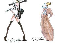 Giorgio Armani for Lady Gaga!