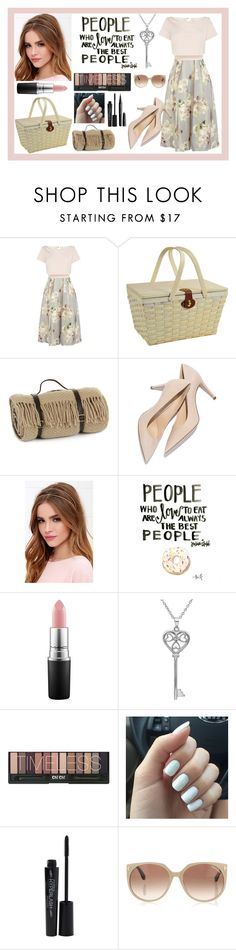 """""""Get the Look: Picnic Time!"""" by gbraak ❤ liked on Polyvore featuring Coast, Picnic at Ascot, Tweedmill, Lulu*s, MAC Cosmetics, Amanda Rose Collection, Smashbox, Tom Ford, Marc Jacobs and women's clothing"""