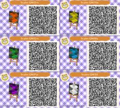 Animal Crossing New Leaf Qr Codes Two Single Tile Brick