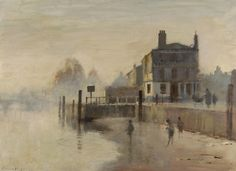 Early Morning, Richmond. Edward Seago