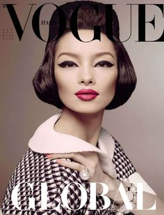 fei fei sun by steven meisel for vogue italia january 2013 | visual optimism; fashion editorials, shows, campaigns & more!