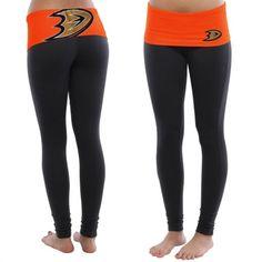 Anaheim Ducks Women's Black Sublime Leggings #ducks #mightyducks #anaheimducks