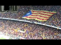 Cry for Catalan independence during the 'classic' Barça - Real Madrid