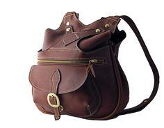 Chestnut Leather Backpack - Tom Taylor Santa Fe