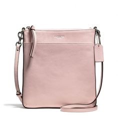 The Bleecker North/south Swingpack In Leather from Coach