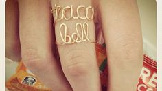 Taco Bell rings are the ultimate stocking stuffer