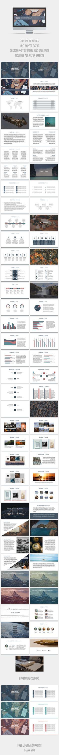Magnus PowerPoint Template - PowerPoint Templates Presentation Templates