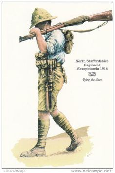 North Staffordshire Regiment Mesopotamia 1916