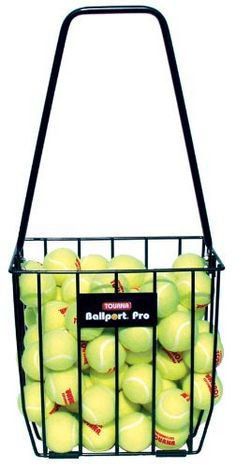 Tourna Ballport 85 Ball Pick up Tennis Hopper by Tourna -- Check out this great product.