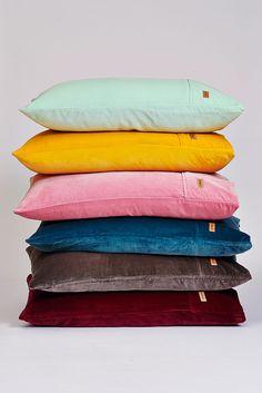 Velvet pillows velvet sham www.kipandco.net.au