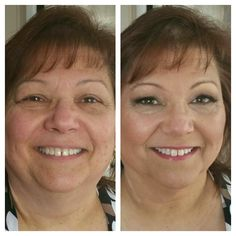 before and after contouring. beautiful inside and out!! #makeup #contour