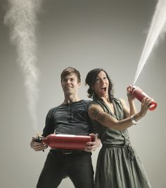 Matt and Kim. Great musical duo and also the cutest couple. Wish I had a relationship like them!