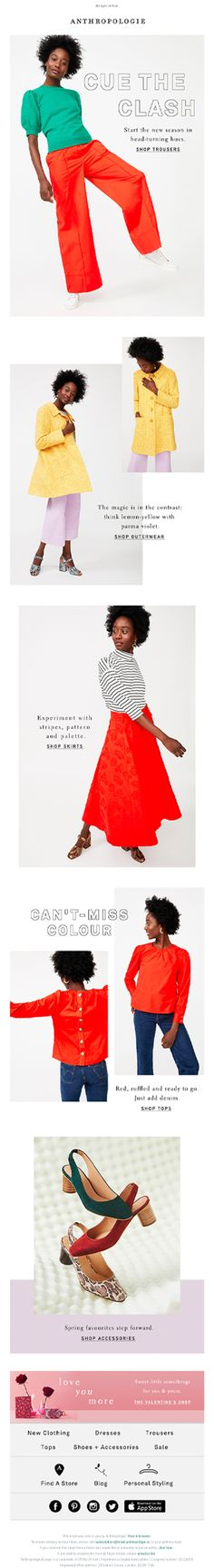 Email New, Anthropologie, Anthropology