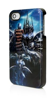 Performance Designed Products IP-1456 Blizzard World of WarCraft Lich King Logo Clip Case for iPhone @ niftywarehouse.com