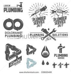 funny plumber logos - Google Search