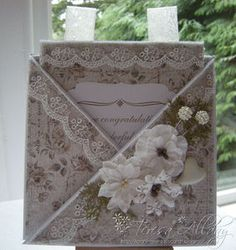 HAND-MADE VINTAGE STYLE BIRTHDAY CONGRATULATIONS GREETING CARD & TAG   eBay