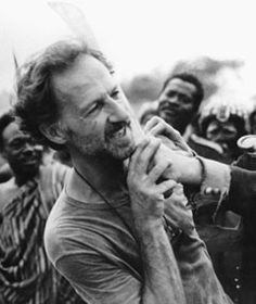 """Werner Herzog - """"It is my duty to direct because the films might be the inner chronicle of what we are, and we have to articulate ourselves. Otherwise we would be cows in the field."""""""