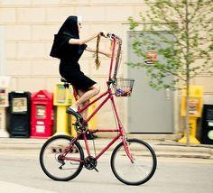 Funny Vehicles: Lord's bike.