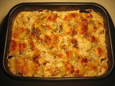 Рыба, запеченная с овощами и сыром : Рыбные блюда