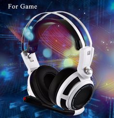 The Gaming Headphones Headset is built-in vibrator system, super shocking sound effects, enhances the reality and depth of explosions gun blasts and other deep sounds. High-precision sound source position. Its super soft Over-ear pads is more comfortable for long time wear, and it is a great headphone for game player!