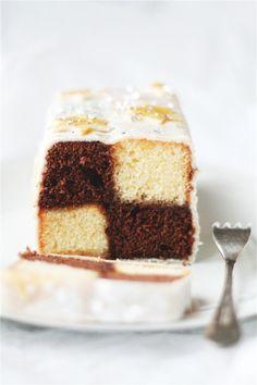 Almonds & chocolate cake ♥