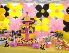 Jelinas primera beeday - Partido Bee Girly