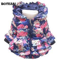 New baby girl's flower jacket