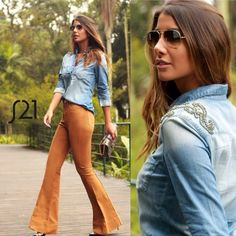 70s Women Fashion, Fashion 101, Look Fashion, Fashion Outfits, Looks Style, Casual Looks, My Style, Beautiful Outfits, Cool Outfits