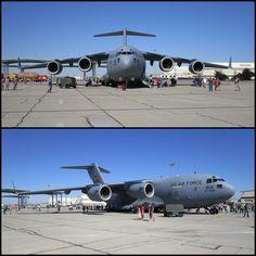 Boeing C-17 Globemaster III Gunfighter Skies 2014 Mountain Home AFB USAF