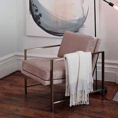 Metal Frame Upholstered Chair | west elm