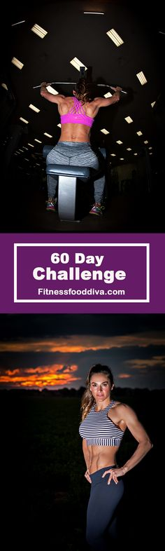**NEW** WORKOUT PROGRAM.  An intense 60 Days to Challenge every inch of your body!  Get it TODAY.