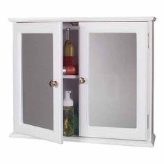 Three Door Medicine Cabinet Redo
