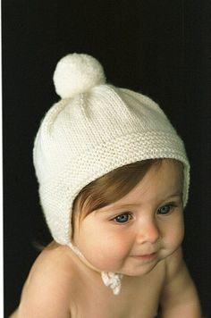 Pom Pom Cap pattern by Hadley Fierlinger - Knitting Projects Baby Hats Knitting, Knitting For Kids, Baby Knitting Patterns, Knitting Projects, Knitted Hats, Charity Knitting, Diy Tricot Crochet, Knit Or Crochet, Crochet Hats