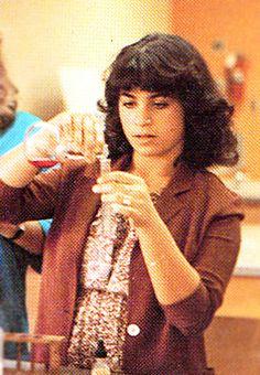 Paula Abdul, Senior High School Yearbook Photo, 1980