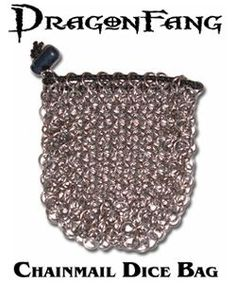 How to Make a Chain Mail Dice Bag thumbnail