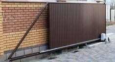 Steel Gate Design, Front Gate Design, Main Gate Design, House Gate Design, Metal Driveway Gates, Front Gates, Old Door Projects, Cottage Front Doors, Modern Fence Design