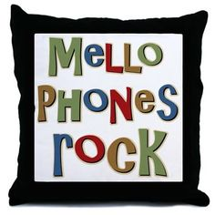 CafePress - Mellophones Rock Player Lover Throw Pillow - Throw Pillow, Decorative Accent Pillow *** Hurry! Check out this great product (This is an amazon affiliate link. I may earn commission from it)