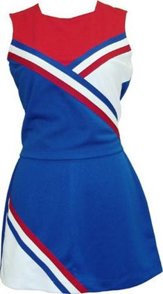 Cheerleading Uniform (Cheerleading Uniform) Cheerleading Uniforms, Sports Uniforms, Cheer Outfits, Girl Outfits, Patriots Cheerleaders, Mean Girls, T Shirts For Women, Clothes For Women, Dance Costumes