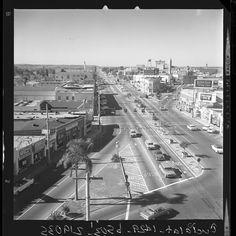 March 24, 1963 Culver City, CA Intersection of Washington & Culver Boulevard