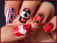 nail art cartes a jouer 1