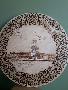 Wood Burning Tool, Wood Burning Patterns, Photo Onto Wood, Creative Area, Deer Pattern, Stencil Templates, Small Mirrors, Woodworking Projects Diy, Wood Crafts