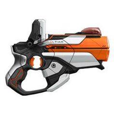 Nerf Lazer Tag Pistol, Looks like a mass effect gun