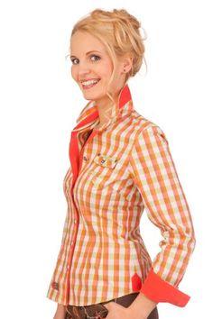 Trachten Bluse langer Arm - RIEGSEE - lachs, rot, azurblau, Größe 36 Spieth & Wensky http://www.amazon.de/dp/B00EZB24P4/ref=cm_sw_r_pi_dp_tP5Bub19W7DGY