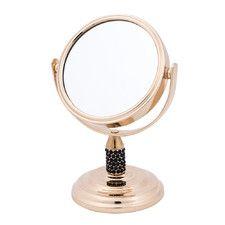 Gold Studded Mini Mirror