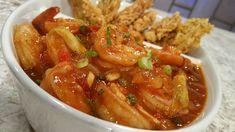 Camarones en salsa de tomate y alcaparras (VIDEO) - Chef Edgardo Noel