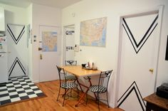 washi tape wall ideas 600x397 What is japanese washi tape