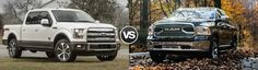 Wondering about how the 2017 #Ford F-150 and the Ram 1500 compare?  Here you go!