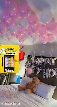 Gifts & Mugs Happy Birthday Silver Letter Foil Balloon + 30pcs Pink, White Balloons + 10 pcs Magic Candles  Happy Birthday Silver Letter Foil Balloon + 30pcs Pink, White Balloons + 10 pcs Magic Candles Sizes Available: Free Size   Catalog Rating: ★4.2 (1202)  Catalog Name: Check out this trending catalog CatalogID_4068720 C127-SC1268 Code: 952-19684979-777