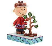 Jim Shore Peanut Gallery Charlie Browns Christmas Tree - H203813